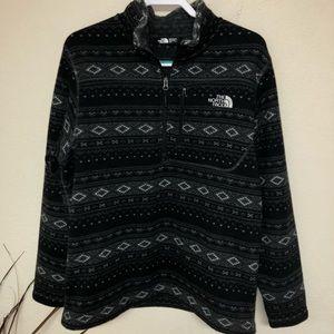 The North Face Sz Lrg Gordon Lyons 1/4 Zip Sweater